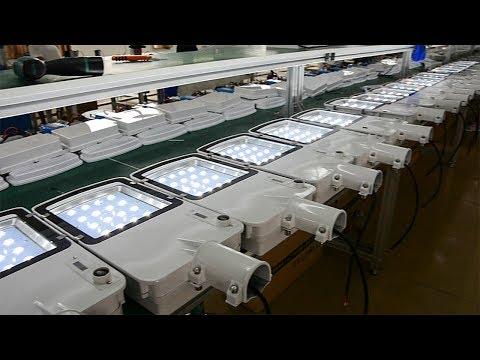 Inbrit Solar Power LED Street Light Manufacturer, Factory Produce Line Introduction