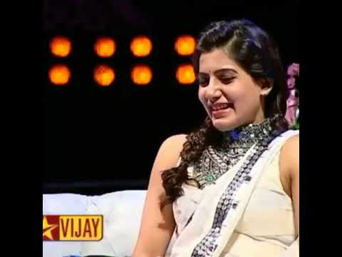 Beauty Queen samantha and Chiyan vikram,COFFEE WITH DD Show