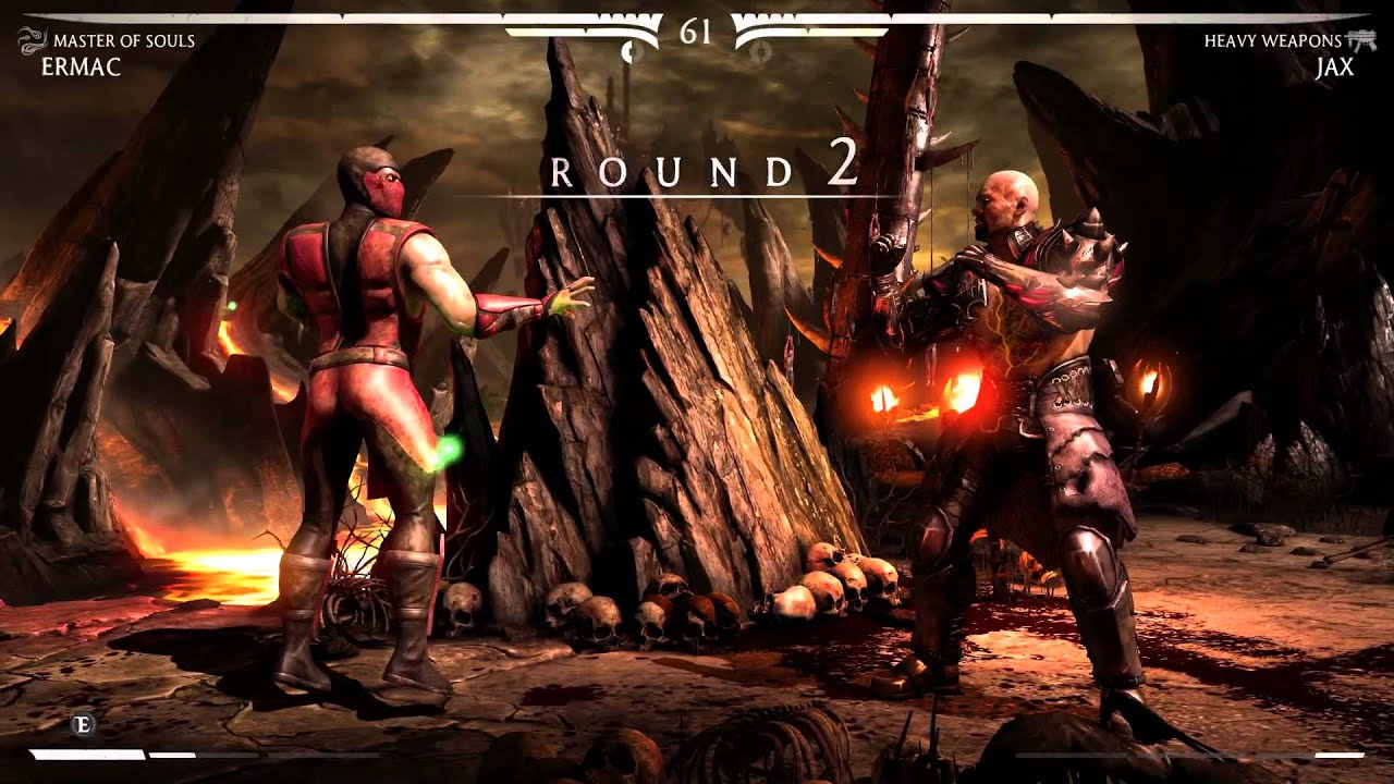 Mortal Kombat X Ermac Master Of Souls Hard Klassic Tower Gameplay