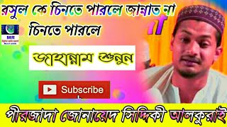 2019 সেরা মহফীল করেছেন পীরজাদা জোনায়েদ সিদ্দিকী আলকুরাই new Jolsha
