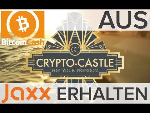 TUTORIAL - Bitcoin Cash aus JAXX Wallet erhalten, mit Hilfe vom Electron Cash Wallet