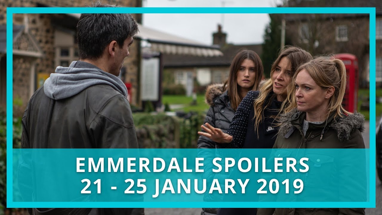 Emmerdale spoilers: 21 - 25 January 2019
