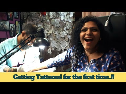 Kavi Getting Tattooed For The First Time   Birthday Girl   Kamal Vlogs
