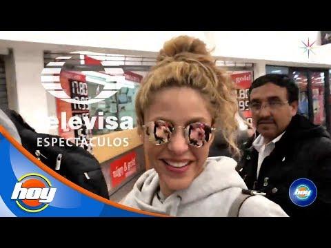 EXCLUSIVA ¡Shakira está en México! | Hoy