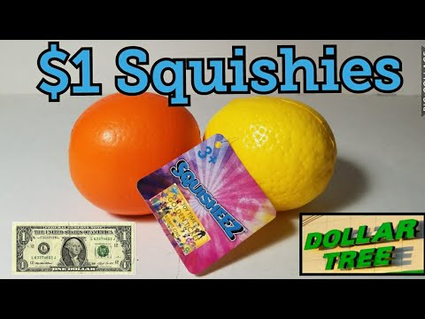4K Dollar Tree Squishies Lemon And Orange Slow Rising