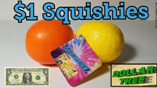 4K Dollar Tree Squishies Lemon And Orange Slow Rising Squishy Test