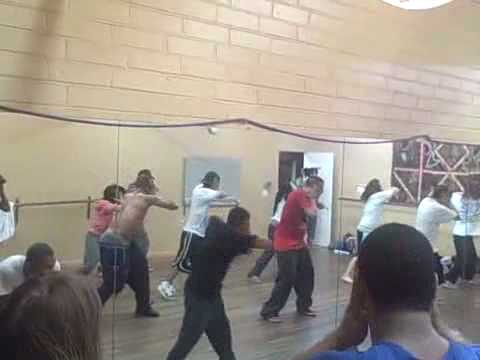 Asylum Rehearsal: Waters of Nazareth Choreo by Kri...