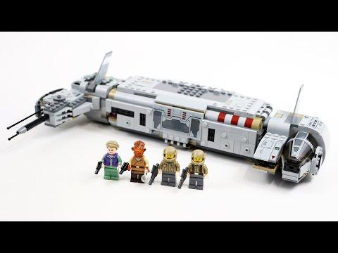 LEGO Star Wars Resistance Troop Transport (Timelapse & Review) - Set 75140
