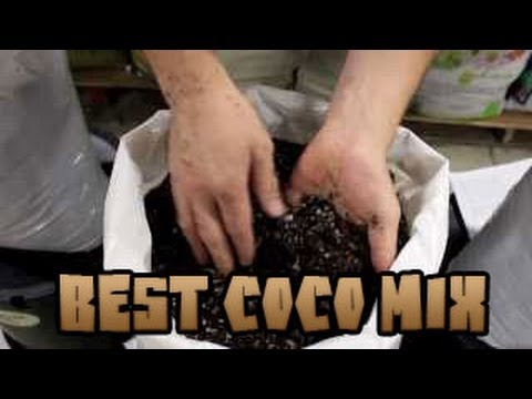 Best Coco Coir Blend For Hydroponics OR Organics | Best Coco Mix For Growing | Highest Quality Coir