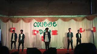Sree keralavarma college 2019 college Day | Dance Arrows Returnz 🏹 | Full team | to be continued 🏹
