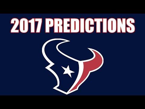 Houston Texans 2017 Record Predictions