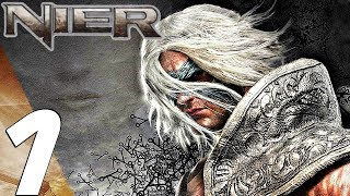 NIER - Gameplay Walkthrough Part 1 - Prologue (Full Game)
