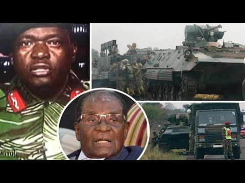 Zimbabwe coup LIVE Robert Mugabe under house arrest  army control   wife Grace in Namibia