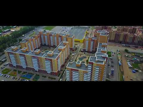 Аэромониторинг строительства минирайона Образцово