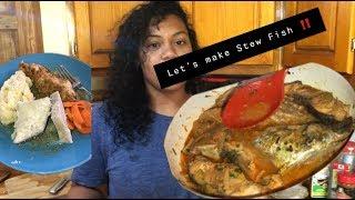 Lets Cook ! STEW FISH ! | St.Lucian Style | Vilinda Joyeux