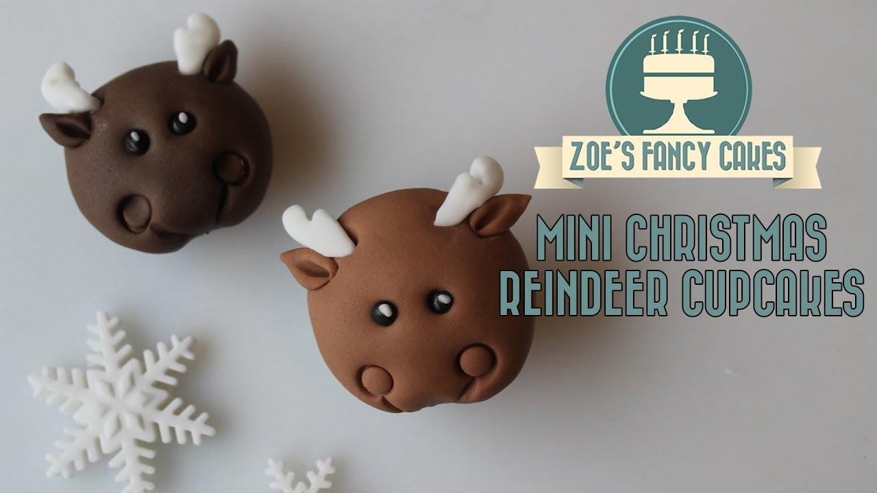 Edible Reindeer Cake Decoration : Christmas reindeer cupcakes how to make Christmas cupcakes ...