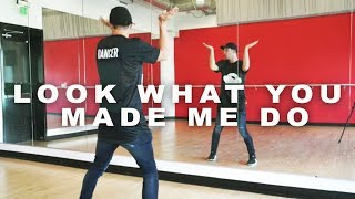 "Taylor Swift - ""LOOK WHAT YOU MADE ME DO"" Dance Tutorial | Matt Steffanina ft AC Bonifacio"