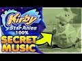 UNDISCOVERED SECRET MUSIC IN VERSION 2.0 100% FILE! | Kirby Star Allies