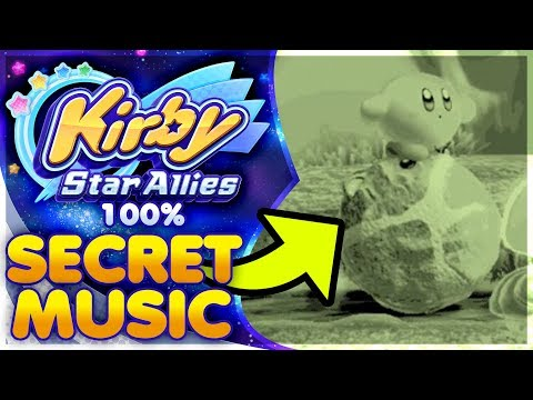 UNDISCOVERED SECRET  IN  20 100% FILE  Kirby Star Allies