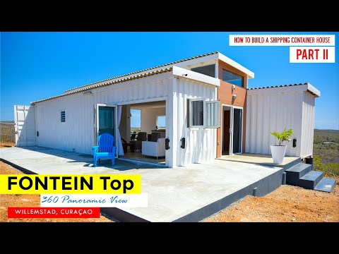 FonteinTop Shipping Container Home in Willemstad, Curaçao