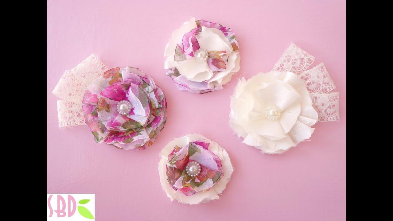 Come fare fiori di stoffa | Notizie.it