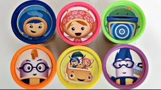 TEAM UMIZOOMI Play-Doh Lids Toy Surprises | Toys Unlimited