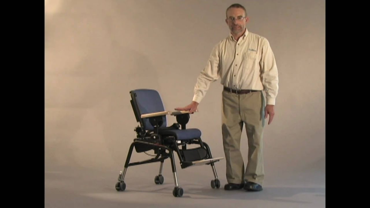 rifton activity chair best inexpensive high inservice video 5 footrest youtube
