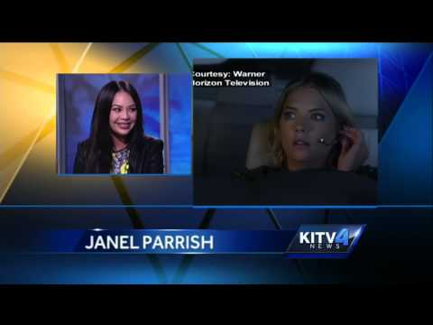 Local girl gone Hollywood, Janel Parrish back home