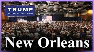 LIVE Donald Trump New Orleans Louisiana Rally MASSIVE CROWD Landmark Aviation FULL SPEECH HD DON JR