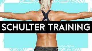 Seitliche Schultern spüren | Meine BESTEN Übungen | Tipps | Sophia Thiel