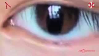 HYBRID GIRL: AWESOME 1080HD SLIT PUPIL EXPOSED!