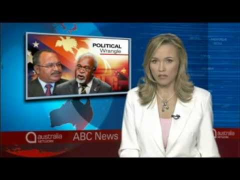 20111213 ABC Radio Australia News Stories PNG speaker ignores Somare court order.wmv