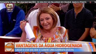 HYDRON | Água hidrogenada na CMTV