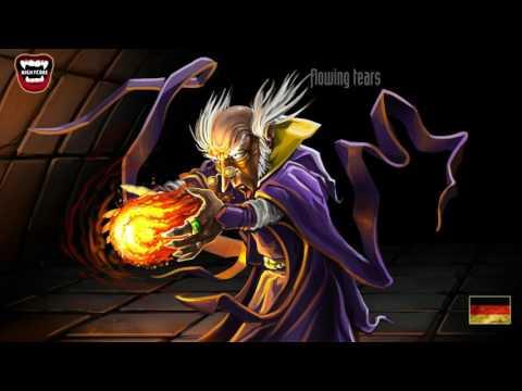 Flowing Tears   Merlin   Nightcore  