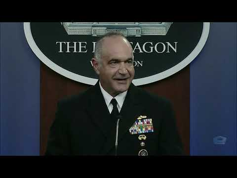 U.S. Strategic Commander Briefs Reporters at the Pentagon. Sep. 14, 2020.