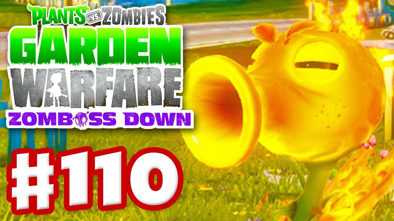 Plants Vs Zombies Garden Warfare Gameplay Walkthrough Part 110 Fire Pea Xbox One Youtube