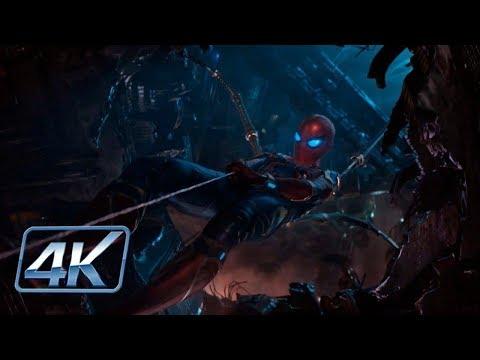 Iron Man & Spider-Man Rescatan a Dr. Strange - Avengers IW (2018) | IMAX HD(4K-HD)