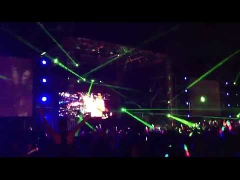 Dash Berlin KL 2013- laser lights