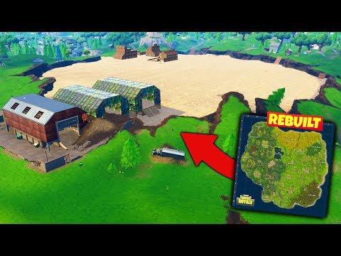 We Rebuilt THE OLD MAP in Fortnite Battle Royale