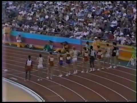 Steve Scott - 1500M Final 1984 Olympics