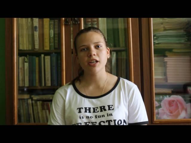 Изображение предпросмотра прочтения – МарияОрлова читает произведение «Топи да болота...» С.А.Есенина
