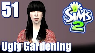 The Sims 2: Ugly Sim Gardening Challenge - Ep. 51 - Ghost Painter