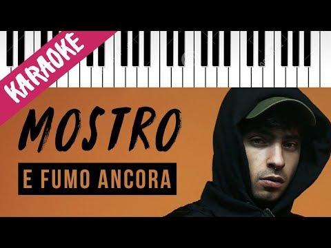 Mostro feat. Ultimo | E Fumo Ancora // Piano Karaoke con Testo