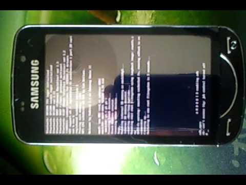 Omnia Pro running Android