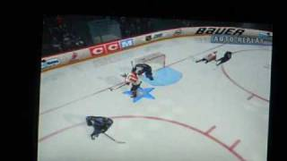 NHL Faceoff 2003 created players first game