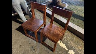 원목 식탁의자 만들기 (Wooden Chair)