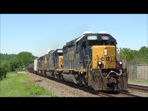 [HD] 24 Hours of Trains on the CSX Chicago Line: 6/17-18/16