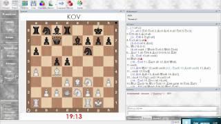 Разбор шахматной партии. Сицилианская защита (Олеся черными). Урок 26 (часть 1)
