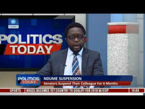 Ndume Suspension: Could It Be A Case Of Witch Hunting Pt. 1