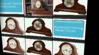 Hm Keywound Chimming Mantel Clocks_0.avi